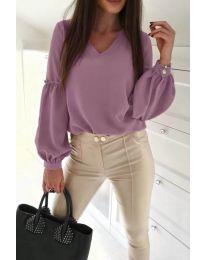 Shirts - kod 685 - purple