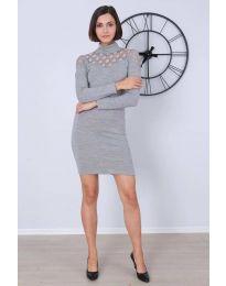 Dresses - kod 6099 - 1 - gray