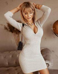Dresses - kod 11643 - gray