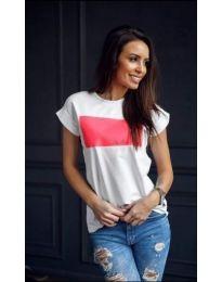 T-shirts - kod 928 - 2 - white