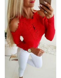 Blouses - kod 3538 - red