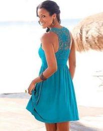 Dresses - kod 0254 - 1 - sky blue