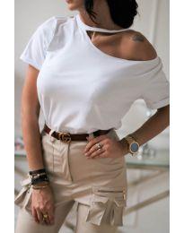 T-shirts - kod 985 - white