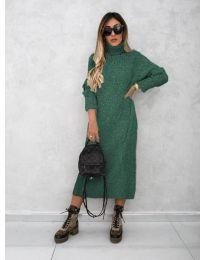 Dresses - kod 0590 - army green
