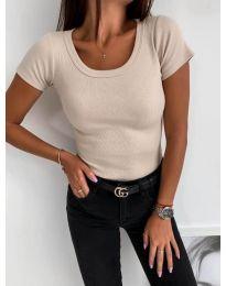 T-shirts - kod 3626 - beige