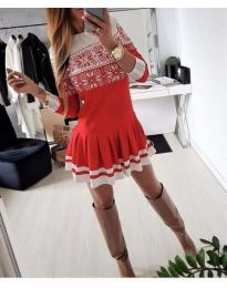 Dresses - kod 123 - red