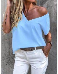 T-shirts - kod 0589 - light blue