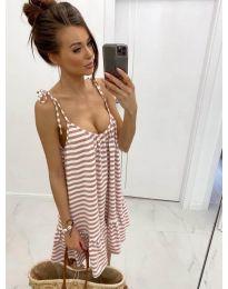 Dresses - kod 560 - brown