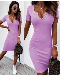 Dresses - kod 8829 - purple