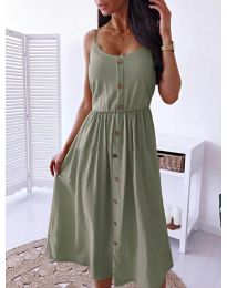 Dresses - kod 5057 - green
