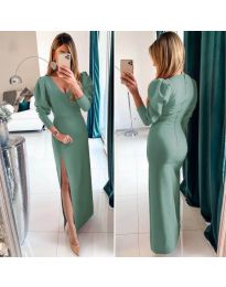 Dresses - kod 210 - green