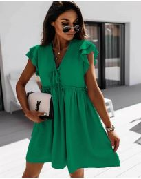 Dresses - kod 2093 - green