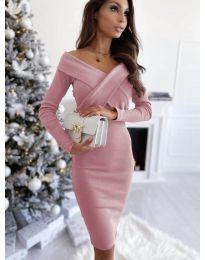 Dresses - kod 6130 - powder