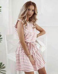 Dresses - kod 7211 - powder