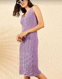 Dresses - kod 0351 - purple