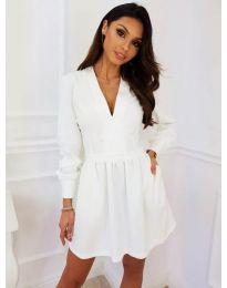 Dresses - kod 089 - white