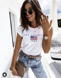 T-shirts - kod 6336 - white
