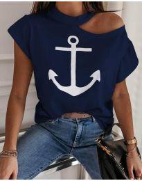 T-shirts - kod 206 - dark blue