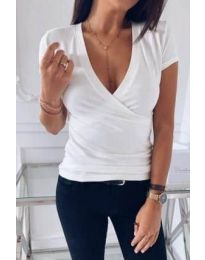 T-shirts - kod 3310 - white