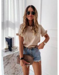 T-shirts - kod 068 - beige
