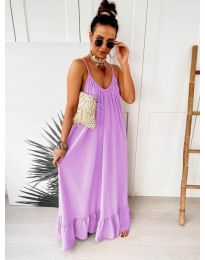 Dresses - kod 2218 - purple