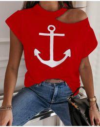 T-shirts - kod 206 - red