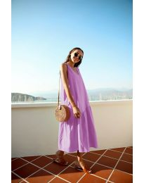 Dresses - kod 8810 - purple