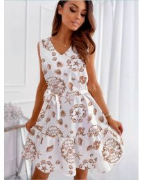 Dresses - kod 346 - white