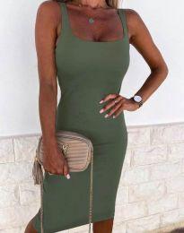 Dresses - kod 8899 - army green