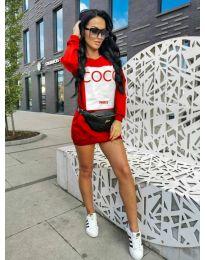 Dresses - kod 230 - red