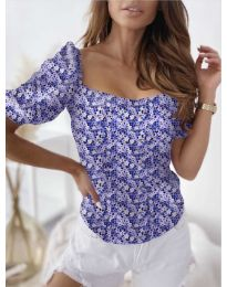 Blouses - kod 9897 - dark blue