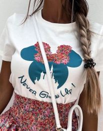 T-shirts - kod 1432 - white