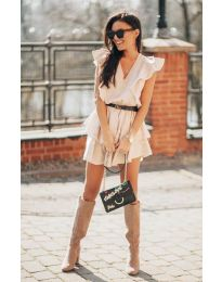 Dresses - kod 7173 - beige