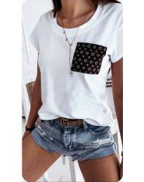 T-shirts - kod 256 - white