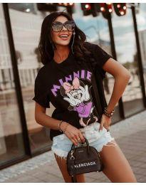 T-shirts - kod 684 - 1 - black