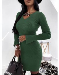 Dresses - kod 5666 - army green