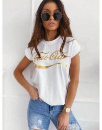 T-shirts - kod 3659 - white