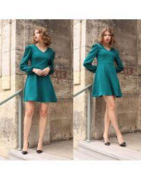 Dresses - kod 1478 - 3 - turquoise