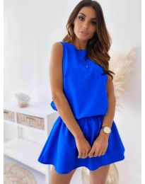 Dresses - kod 477 - sky blue
