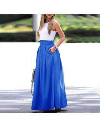 Skirts - kod 693 - sky blue