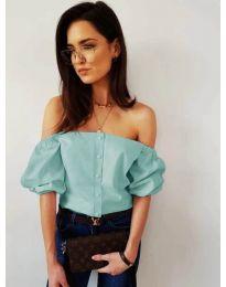 Blouses - kod 243 - turquoise