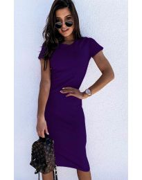 Dresses - kod 682 - purple