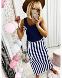 Dresses - kod 5544 - dark blue