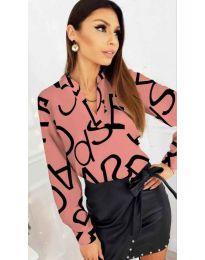 Shirts - kod 823 - pink