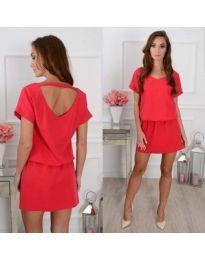 Dresses - kod 382 - red
