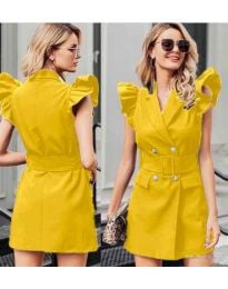 Dresses - kod 311 - yellow