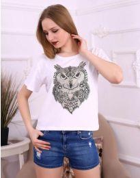 T-shirts - kod 3541 - white