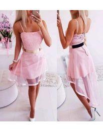 Dresses - kod 641 - pink