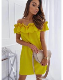 Dresses - kod 133 - yellow