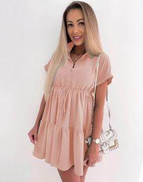 Dresses - kod 8889 - pink